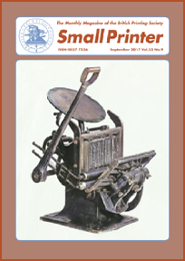 Small Printer Vol 53 - September